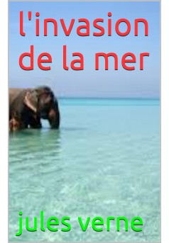 l'invasion de la mer - Couverture de livre auto édité