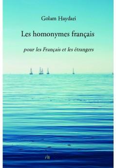 Les homonymes français - Couverture de livre auto édité