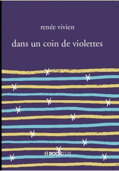 dans un coin de violettes  - Couverture de livre auto édité
