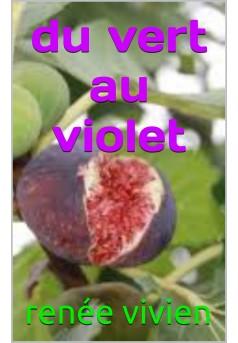 du vert au violet  - Couverture de livre auto édité