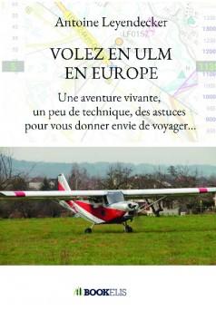 VOLEZ EN ULM EN EUROPE - Couverture de livre auto édité