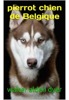 pierrot chien de belgique - Couverture de livre auto édité