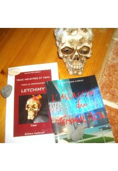 Trois meurtres et demi pour le commissaire Letchimy - Couverture Ebook auto édité