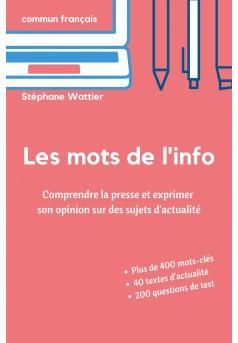 Les mots de l'info - Couverture Ebook auto édité