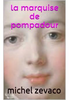 la marquise de pompadour - Couverture de livre auto édité