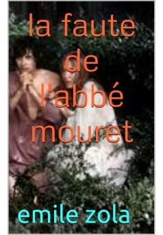 la faute de l'abbé mouret - Couverture de livre auto édité