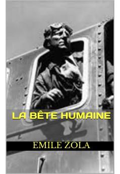 la bête humaine - Couverture de livre auto édité