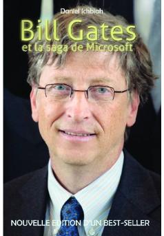 Bill Gates et la saga de Microsoft - Couverture de livre auto édité