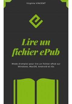 Lire un fichier ePub - Couverture Ebook auto édité
