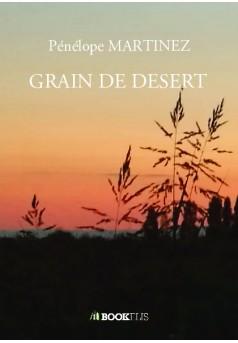 GRAIN DE DESERT - Couverture de livre auto édité
