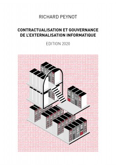 Contractualisation et gouvernance de l'externalisation informatique - Couverture Ebook auto édité