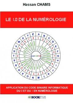 LE 1.0 DE LA NUMÉROLOGIE - Couverture de livre auto édité