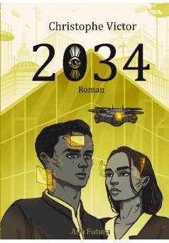2034 - Couverture de livre auto édité
