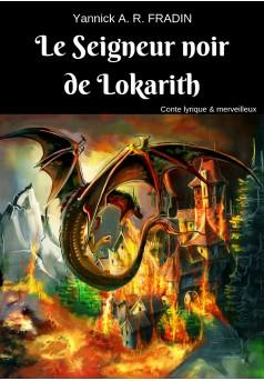 Le Seigneur noir de Lokarith - Couverture Ebook auto édité
