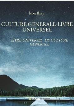 CULTURE GENERALE-LIVRE UNIVERSEL - Couverture de livre auto édité