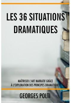 Les 36 situations dramatiques - Couverture Ebook auto édité