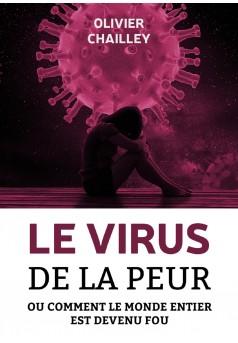 Le virus de la peur - Couverture Ebook auto édité