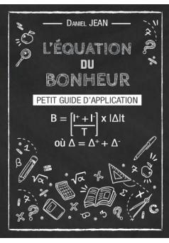 L'équation du Bonheur - Couverture de livre auto édité