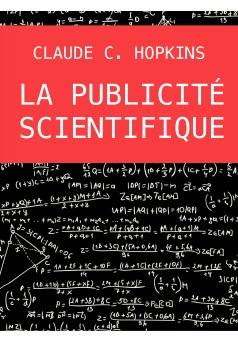 La publicité scientifique - Couverture Ebook auto édité