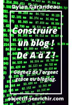 Construire un blog ! - Couverture Ebook auto édité