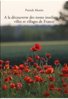 A la découverte des noms insolites des villes et villages de France - Couverture de livre auto édité