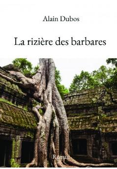 La rizière des barbares - Couverture de livre auto édité