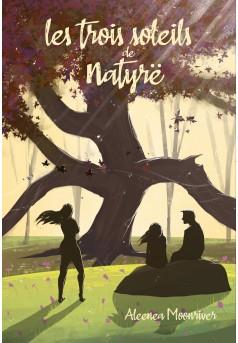 Les trois soleils de Natyrë - Couverture Ebook auto édité