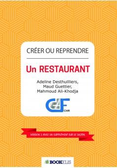 Créer ou Reprendre un Restaurant - Couverture Ebook auto édité
