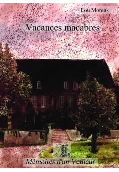 Vacances macabres - Couverture de livre auto édité