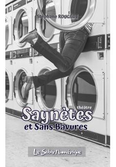 Saynètes et Sans Bavures - Couverture Ebook auto édité