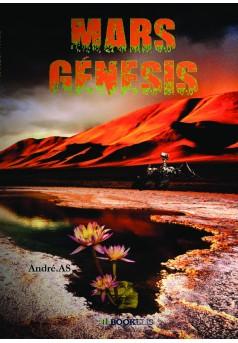 MARS GÉNESIS - Couverture de livre auto édité