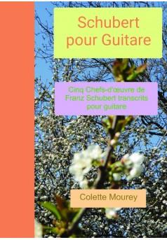 Schubert pour Guitare - Couverture de livre auto édité