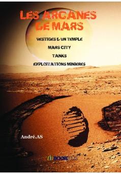 LES ARCANES DE MARS - Couverture de livre auto édité