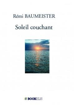 Soleil couchant - Couverture de livre auto édité
