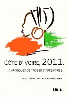 CÔTE D'IVOIRE, 2011. - Couverture de livre auto édité