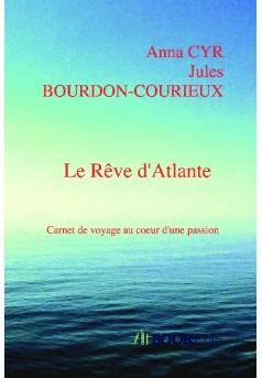 Le Rêve d'Atlante - Couverture de livre auto édité