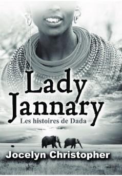 LADY JANNARY - Couverture de livre auto édité