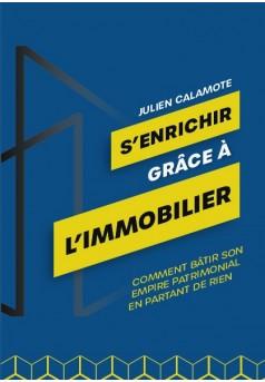 S'ENRICHIR GRÂCE À L'IMMOBILIER  - Couverture de livre auto édité