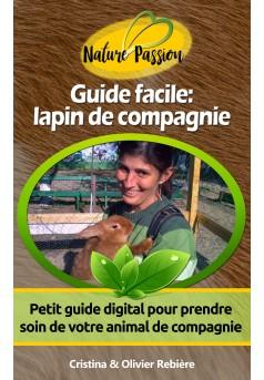 Guide facile: lapin de compagnie - Couverture Ebook auto édité