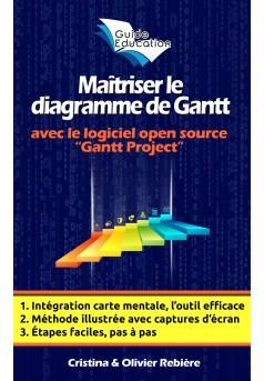 Maîtriser le diagramme de Gantt - Couverture Ebook auto édité