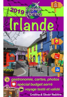 Irlande - Couverture Ebook auto édité