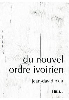 DU NOUVEL ORDRE IVOIRIEN - Couverture de livre auto édité