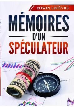 Mémoires d'un spéculateur - Couverture de livre auto édité