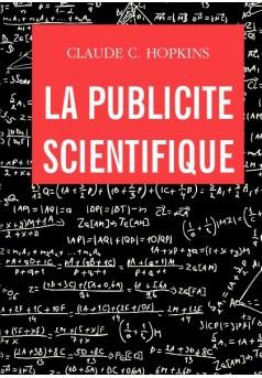 La publicité scientifique - Couverture de livre auto édité