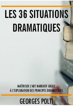 Les 36 situations dramatiques - Couverture de livre auto édité