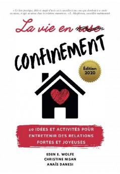 La vie en confinement - Couverture de livre auto édité