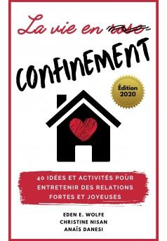 La vie en confinement - Couverture Ebook auto édité