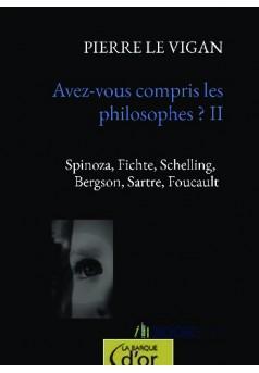 Avez-vous compris les philosophes ? II - Couverture de livre auto édité
