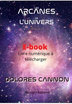 Les Arcanes de l'Univers - Couverture Ebook auto édité