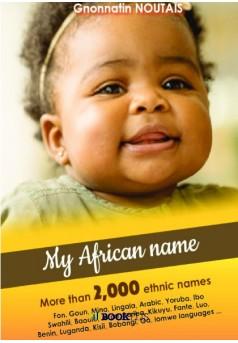 My African Name - Couverture de livre auto édité